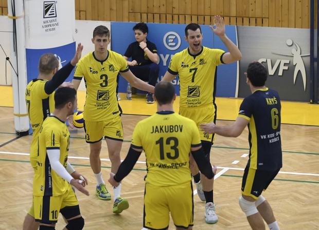 VK KDS Šport Košice - VK Mirad PU Prešov