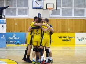 Extraliga 18/19 VK KDS-šport Košice vs. VKP Bystrina SPU Nitra 1.12.2018