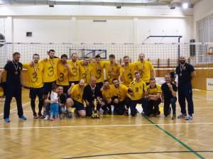 O 3. miesto Extraliga muži 2015/2016 VK KDS-ŠPORT KOŠICE vs. SPARTAK UJS VKP KOMÁRNO 1.5.2016